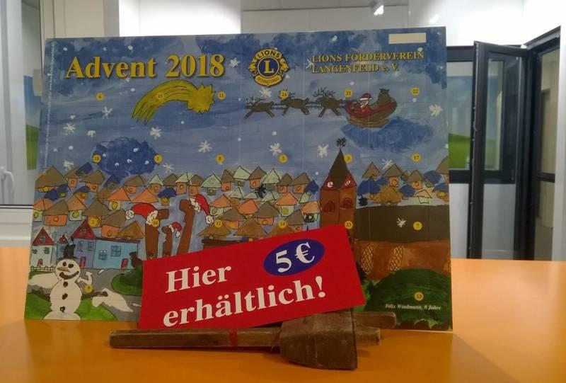 Gewinn Weihnachtskalender.Langenfelder Lions Adventskalender Schulz Dobrick Gmbh Ist Mit Dabei